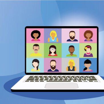 Videokonferenz mit der Schulleitung